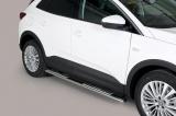 Nerez boční designové nášlapy Opel Grandland X