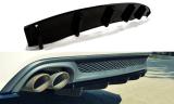 Středový spoiler pod zadní nárazník AUDI A6 C7 S-LINE AVANT
