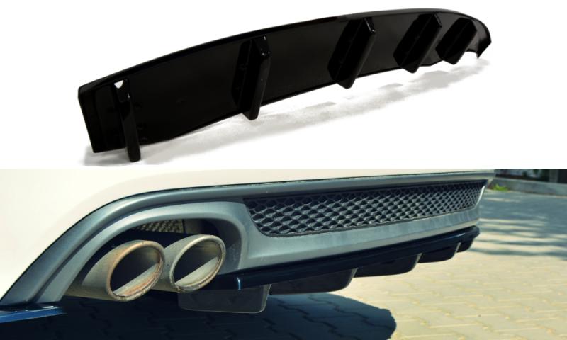 Maxtondesign Středový spoiler pod zadní nárazník AUDI A6 C7 S-LINE AVANT