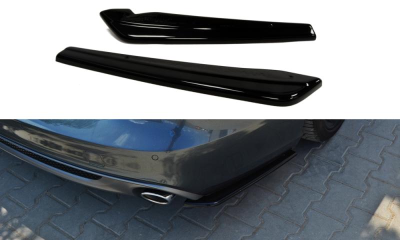 Maxtondesign Boční spoiler pod zadní nárazník AUDI A6 C7 S-LINE AVANT