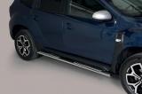 Nerez boční designové nášlapy Dacia Duster 2018