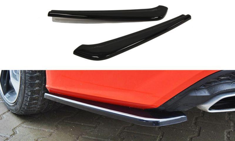 Maxtondesign Boční spoiler pod zadní nárazník AUDI A7 S-LINE (FACELIFT)
