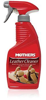 Mothers Leather Cleaner - čistič na kůži, 355 ml