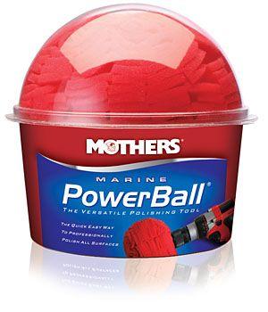 Mothers Marine Powerball - pěnový nástroj usnadňující leštění a čištění
