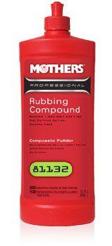 Mothers Professional Rubbing Compound - profesionální leštící pasta (abrazivní leštěnka), 946 ml