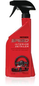 Mothers Speed Interior Detailer - přípravek na rychlé odstranění lehkých nečistot a prachu v interiéru, 710 ml