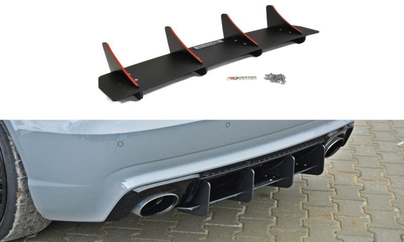 Maxtondesign Středový spoiler pod zadní nárazník Audi RS3 8VA Sportback