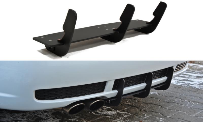 Maxtondesign Středový spoiler pod zadní nárazník Audi RS4 B5