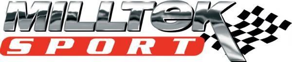 Catback výfuk Milltek Ford Fiesta Mk7 1.0T EcoBoost ST-Line 3/5-dv. (17-) - verze s rezonátorem - koncovka karbonová (homologace) Milltek Sport
