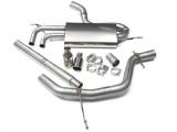 Catback výfuk Milltek VW Golf 5 2.0 TDI 140PS (04-09) - koncovky leštěné (ED30 style)
