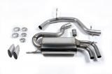 Catback výfuk Milltek VW Golf 5 GTi ED30 2.0 TFSI 230PS (06-09) - verze bez rezonátoru - koncovka titanová (homologace)