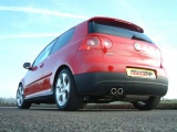 Turboback výfuk Milltek VW Golf 5 GTi 2.0 TFSI (04-09) - verze bez rezonátoru - koncovka černá Milltek Sport