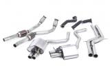 Kompletní výfukový systém Milltek Audi RS6 C7 4.0 TFSI Bi-turbo Quattro (13-) - silniční verze bez rezonátoru