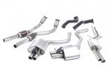 Kompletní výfukový systém Milltek Audi RS6 C7 4.0 TFSI Bi-turbo Quattro (13-) - silniční verze s rezonátorem Road+