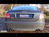 Catback výfuk Milltek Audi S6 C6 5.2 V10 FSI Quattro (06-12) - verze s rezonátorem Road+ Milltek Sport