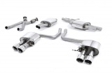 Catback výfuk Milltek Audi SQ5 3.0 TFSI Supercharged (13-16) - koncovky leštěné