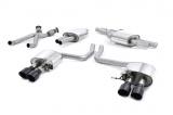 Catback výfuk Milltek Audi SQ5 3.0 TFSI Supercharged (13-16) - koncovky karbonové