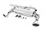 Catback výfuk Milltek Audi TT FV/8S TTRS 2.5 TFSI Quattro (16-) - verze bez rezonátoru - koncovky leštěné