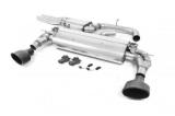 Catback výfuk Milltek Audi TT FV/8S TTRS 2.5 TFSI Quattro (16-) - verze s rezonátorem - koncovky černé (homologace)