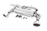 Catback výfuk Milltek Audi TT FV/8S TTRS 2.5 TFSI Quattro (16-) - verze s rezonátorem - koncovky leštěné (homologace)