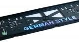 Podložka pod SPZ 3D GERMAN STYLE