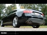 Catback výfuk Milltek Audi S5 B8 Coupe 4.2 FSI V8 Quattro manual/automat (07-11) - verze s klapkami - koncovky černé