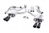 Catback výfuk Milltek Audi S5 B9 3.0 TFSI V6 Sportback bez sport. difer., s výzt./bez výzt. (17-) - verze bez rezonátoru - koncovky černé GT90
