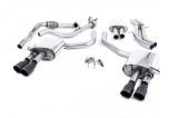 Catback výfuk Milltek Audi S5 B9 3.0 TFSI V6 Sportback bez sport. difer., s výzt./bez výzt. (17-) - verze s rezonátorem - koncovky černé GT90 (homologace)