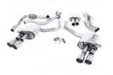 Catback výfuk Milltek Audi S5 B9 3.0 TFSI V6 Sportback bez sport. difer., s výzt./bez výzt. (17-) - verze s rezonátorem - koncovky leštěné GT90 (homologace)