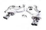 Catback výfuk Milltek Audi S5 B9 3.0 TFSI V6 Sportback bez sport. difer., s výzt./bez výzt. (17-) - verze s rezonátorem - koncovky titanové GT90 (homologace)