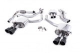 Catback výfuk Milltek Audi S5 B9 3.0 TFSI V6 Sportback bez sport. difer., s výzt./bez výzt. (17-) - verze s rezonátorem - koncovky karbonové (homologace)