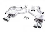 Catback výfuk Milltek Audi S5 B9 3.0 TFSI V6 Sportback sport. difer, bez výzt. (17-) - verze bez rezonátoru - koncovky leštěné