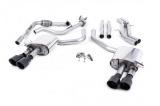 Catback výfuk Milltek Audi S5 B9 3.0 TFSI V6 Sportback sport. difer, bez výzt. (17-) - verze bez rezonátoru - koncovky karbonové