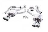 Catback výfuk Milltek Audi S5 B9 3.0 TFSI V6 Sportback sport. difer, bez výzt. (17-) - verze s rezonátorem - koncovky leštěné (homologace)