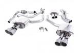 Catback výfuk Milltek Audi S5 B9 3.0 TFSI V6 Sportback sport. difer, bez výzt. (17-) - verze s rezonátorem - koncovky titanové (homologace)