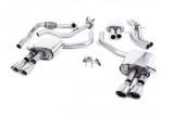 Catback výfuk Milltek Audi S5 B9 3.0 TFSI V6 Sportback sport. difer, bez výzt. (17-) - verze s rezonátorem - koncovky leštěné Oval (homologace)
