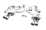 Catback výfuk Milltek Audi S5 B9 3.0 TFSI V6 Coupe/Cabrio bez sport. difer. (17-) - verze bez rezonátoru - koncovky leštěné