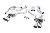 Catback výfuk Milltek Audi S5 B9 3.0 TFSI V6 Coupe sport. difer. (17-) - verze bez rezonátoru - koncovky leštěné