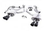 Catback výfuk Milltek Audi S5 B9 3.0 TFSI V6 Coupe/Cabrio bez sport. difer. (17-) - verze s rezonátorem - koncovky černé (homologace)