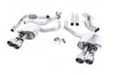 Catback výfuk Milltek Audi S5 B9 3.0 TFSI V6 Coupe/Cabrio bez sport. difer. (17-) - verze s rezonátorem - koncovky leštěné (homologace)