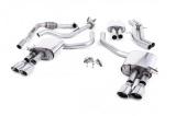 Catback výfuk Milltek Audi S5 B9 3.0 TFSI V6 Coupe/Cabrio bez sport. difer. (17-) - verze s rezonátorem - koncovky leštěné Oval (homologace)