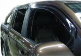 Deflektory - ofuky oken Ford Ranger T6 double cab - velké