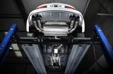 Catback výfuk Milltek Audi S3 8V 2.0 TFSI Quattro Sedan/Cabrio (13-) - verze s rezonátorem - koncovky černé Oval (homologace) Milltek Sport