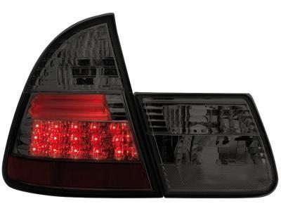 Zadní světla s LED BMW E46 Touring kouřová Dectane