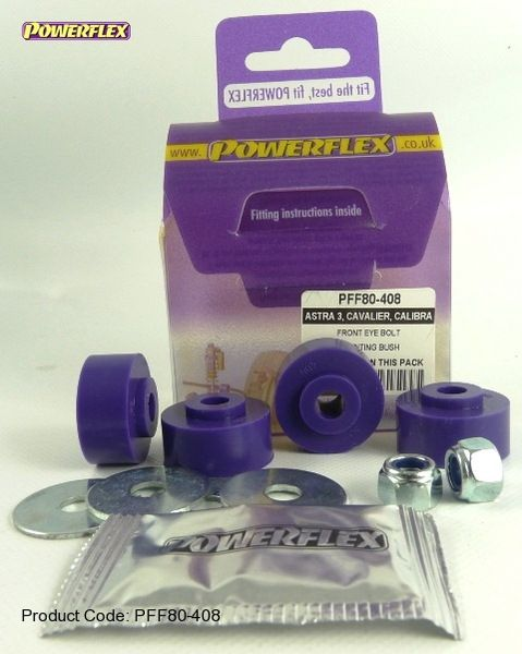 Silentbloky Powerflex Opel Astra F (92-98) Front Anti Roll Bar Mounting Bolt Bushes (4)