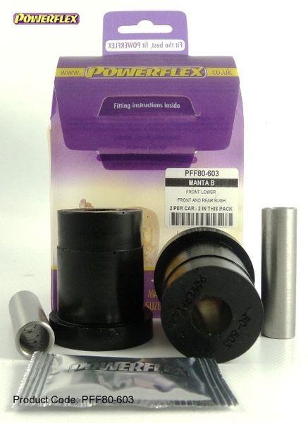 Silentbloky Powerflex Opel Manta B Front Lower Rear Bush (3)