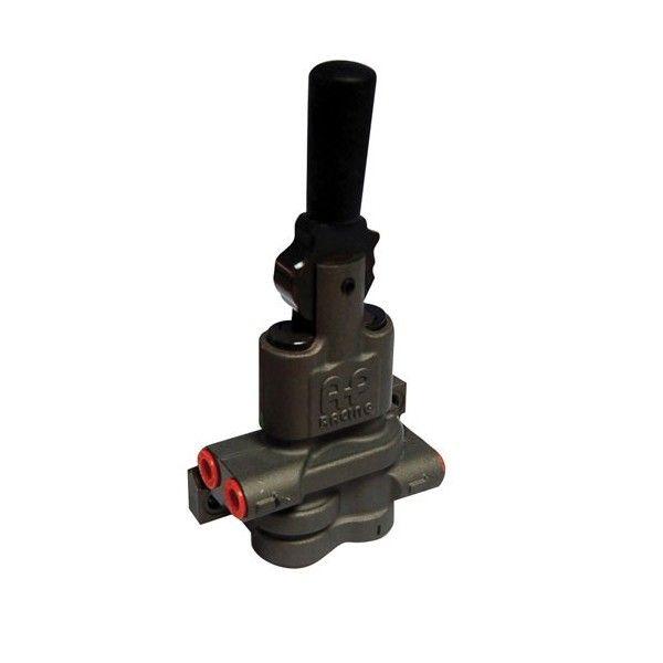 Regulátor brzdné síly (brzdného účinku) AP Racing CP4550-1 M10x1.0 - pákový (dvou okruhový)