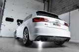 Turboback výfuk Milltek Audi S3 8V 2.0 TFSI Quattro 3-dv. (13-) - verze s rezonátorem - koncovky leštěné Oval Milltek Sport