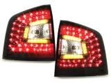 Zadní světla červená LED Litec Škoda Octavia II Combi - dynamický blikač Dectane