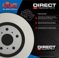 Brzdové kotouče DBA na Chrysler Sebring 2.0, 2.0TD, 2.4, 2.7 (07-) - přední DBA-2422